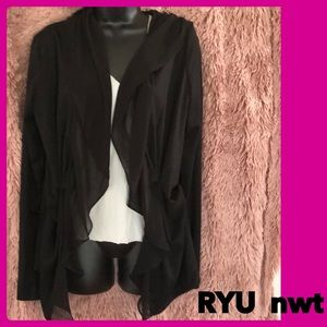 Ryu sweater size m NWT black cute jacket $49